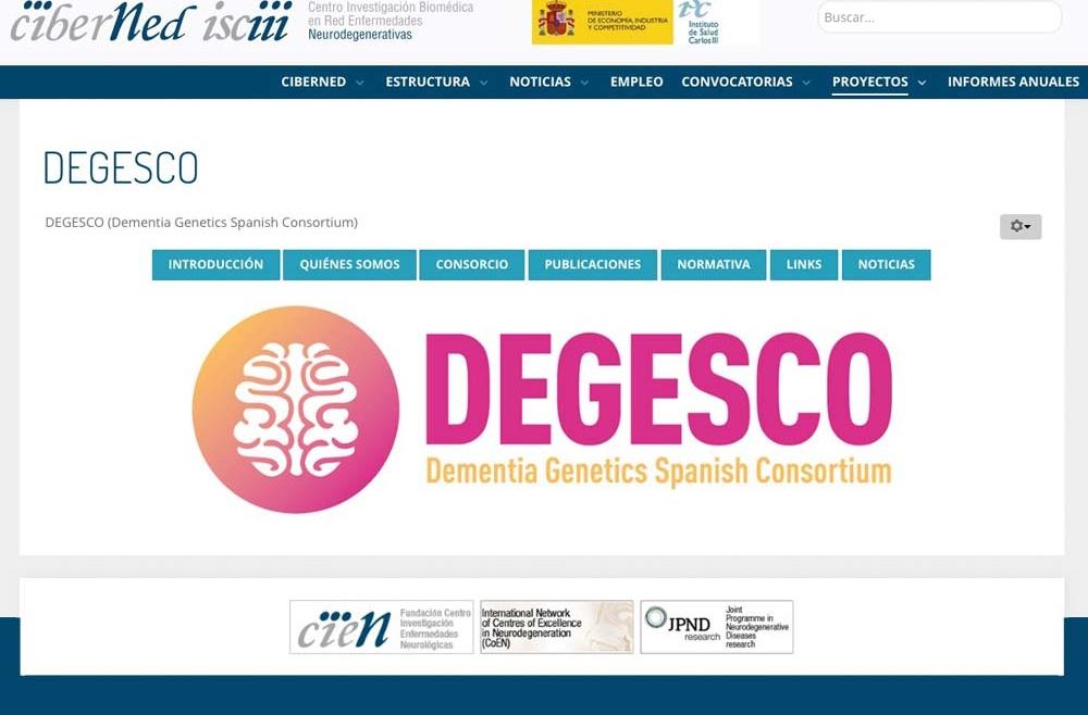 IANEC se incorpora como miembro de DEGESCO (Dementia Genetics Spanish Consortium).