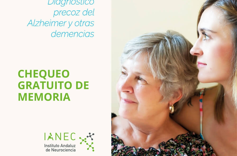 Chequeo gratuito de memoria. Diagnóstico precoz del Alzheimer y otras demencias