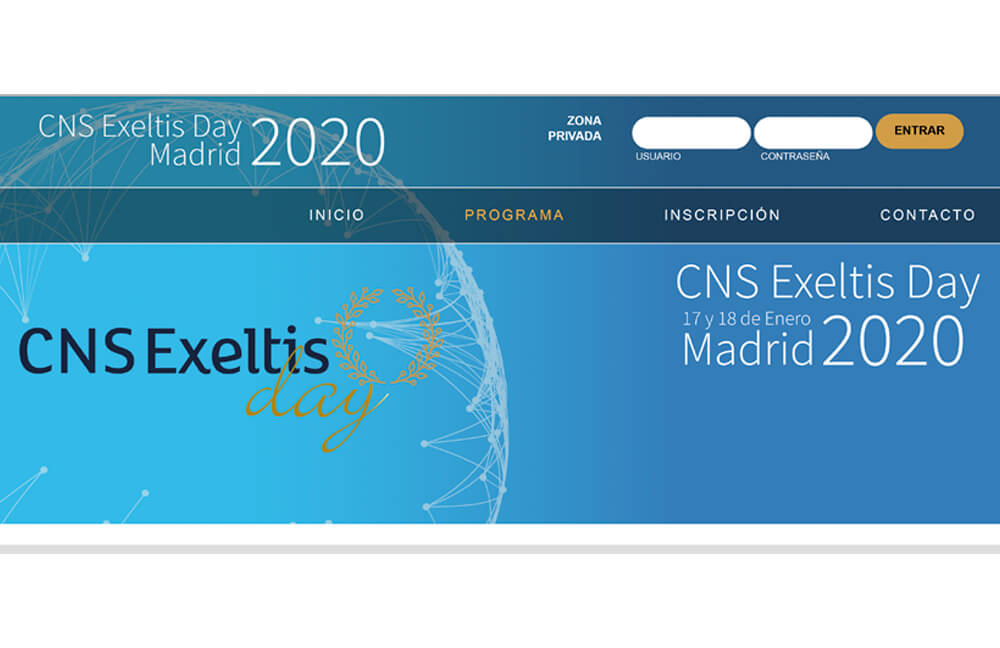 CNS Exeltis Day, 17 y 18 de enero – Madrid 2020