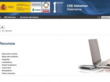 Publicados nuevos recursos en la web del CRE Alzheimer Salamanca